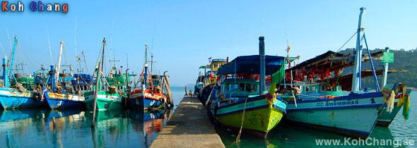 Bang Bao båt Pier