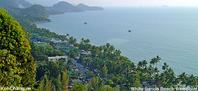 White Sand Beach viewpoint