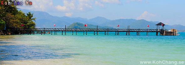 Koh Lao Ya Pier